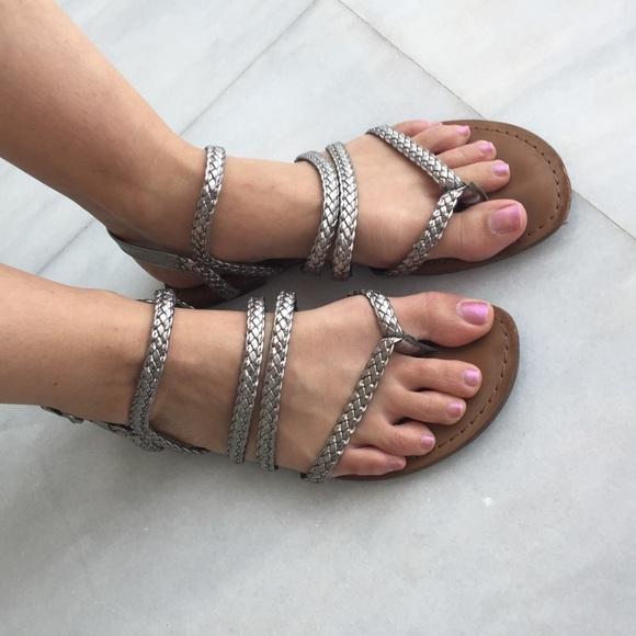 b8f65702847d Circus by Sam Edelman Shoes - Sam Edelman Circus silver sandals